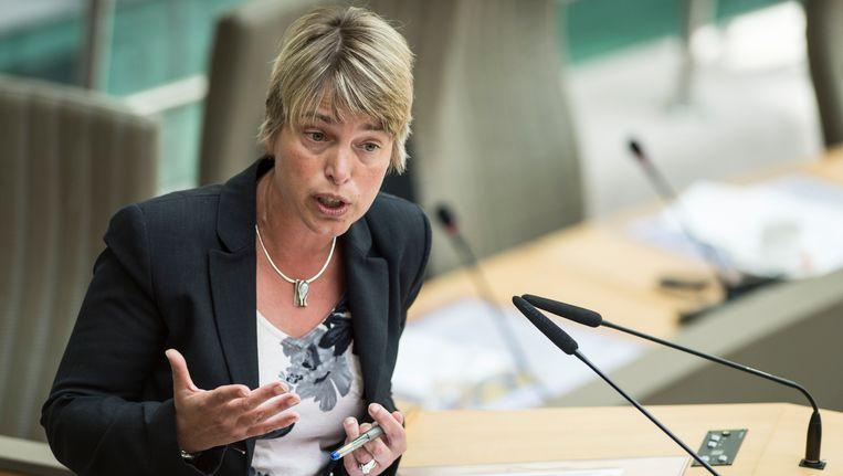 Vlaams minister van Milieu Joke Schauvliege (CD&V).