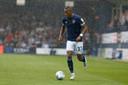 Rajiv van la Parra nog in het shirt van zijn oude ploeg Huddersfield Town.