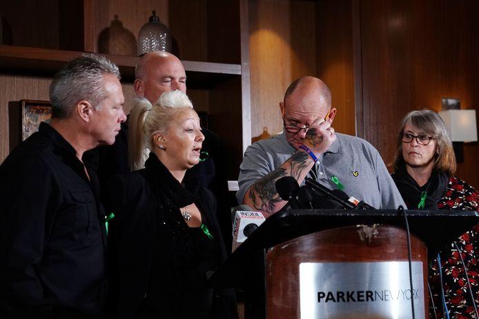 De ouders van Harry Dunn geven een emotionele persconferentie.