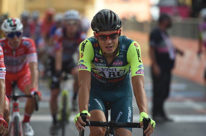 Spreafico komt over de streep in de 2de etappe.