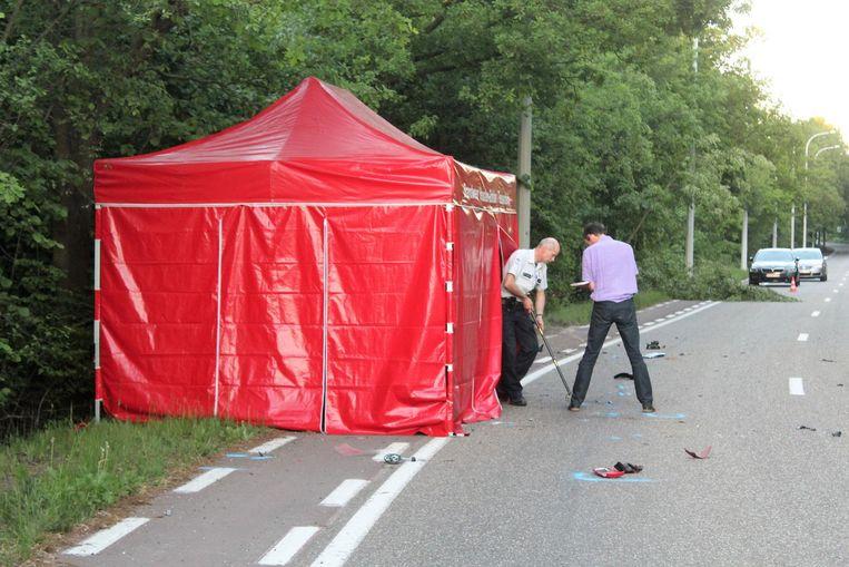 Het parket stuurde een verkeersdeskundige naar de plaats van het ongeval.
