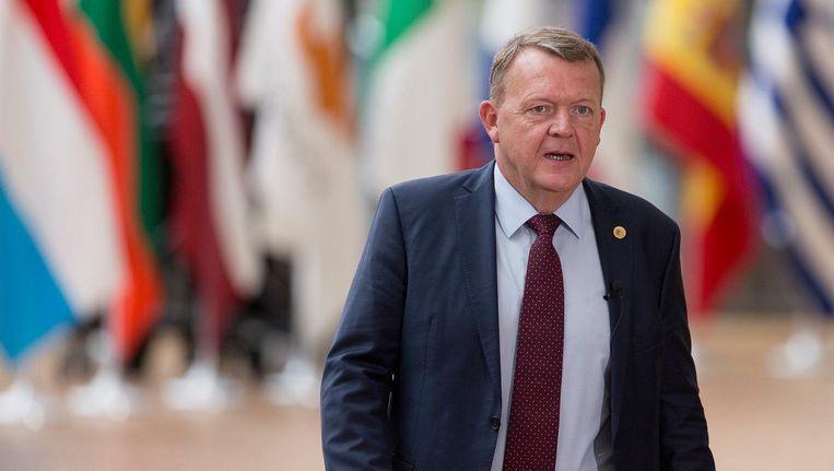 De Deense premier Rasmussen wil een bezoek van de Turkse premier aan zijn land uitstellen vanwege de rel tussen Ankara en Den Haag. Beeld photo_news