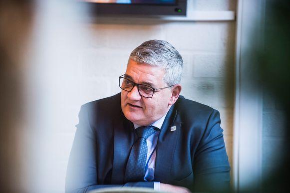 Steven Vandeput (N-VA). Hij kan beginnen aan zijn nieuwe leven als burgemeester van Hasselt.