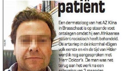 'Racistische' dokter dreigt met aanslag in Klina-ziekenhuis