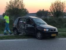 Automobilist botst op lantaarnpaal in Middelburg