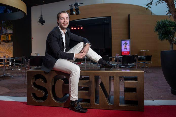 Rens Kievits (23) staat in januari twee keer voor een uitverkochte kleine zaal in Cultura in Ede.
