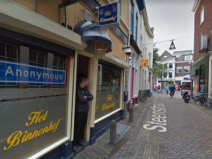 Coffeeshop Het Binnenhof in Zwolle.