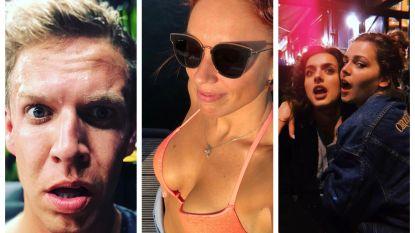SHOWBITS. James Cooke in paniek, Billie werd 24 en Natalia in het zonnetje