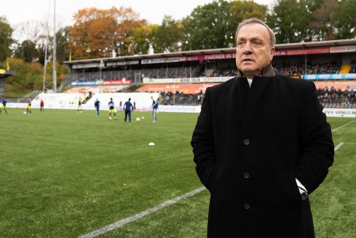 Dick Advocaat afgelopen zondag voor VVV - Feyenoord.