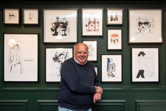 De Bredase horecaman Jack Vink - hier in restaurant Bleue - gaat na vijftig jaar met pensioen.