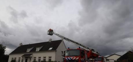 Schoorsteenbrand in Schijndel gauw gedoofd na inzet van de brandweer