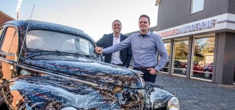 Vierde generatie Vingerhoets brengt autobedrijf terug naar Diessen