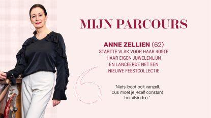 """Het hobbelige parcours van juwelenontwerpster Anne Zellien: """"Niets loopt ooit vanzelf, dus moet je jezelf constant heruitvinden"""""""