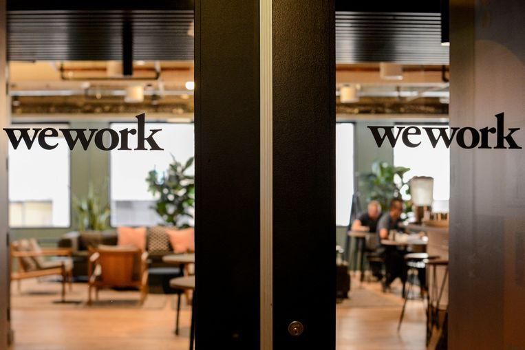 Het WeWork kantoor in San Francisco, Verenigde Staten.