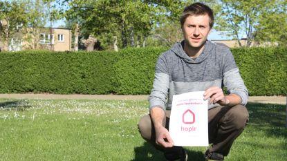 """Nicky start Hoplr in Klemskerke: """"Online platform  voor buren om nieuwtjes en initiatieven te delen"""""""