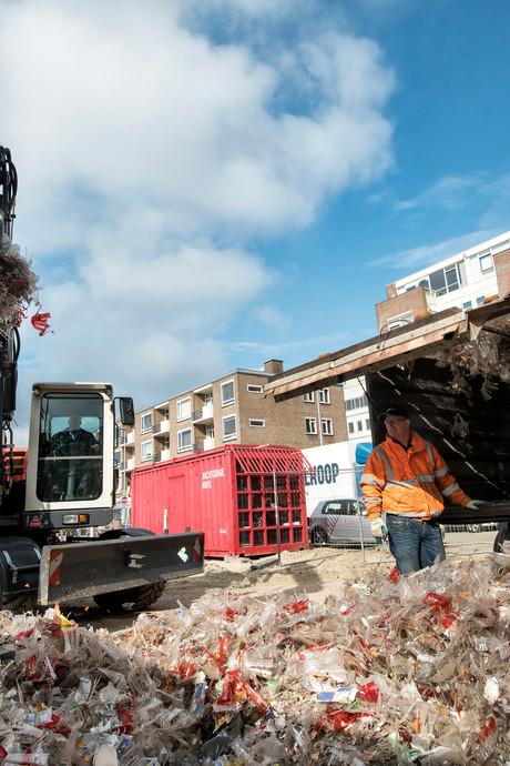 150 kuub afval na Koningsdag in Arnhem