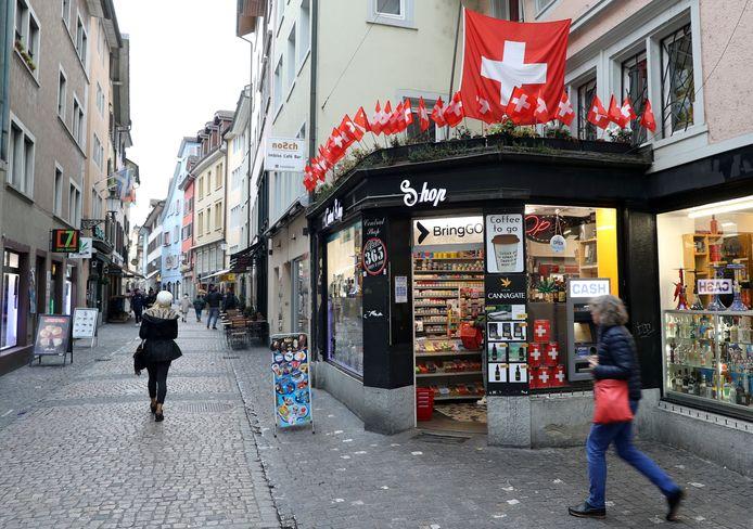 Het oude centrum van Zürich