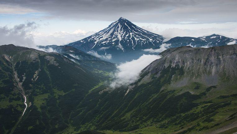 De Vilyuchinsk-vulkaan in Kamtsjatka. Beeld Getty Images/Robert Harding World Imagery