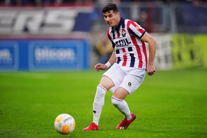 Marios Vrousai is volgens verwachting snel terug op het veld.