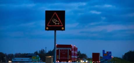 File tussen Emmeloord en Zwolle: meer dan half uur vertraging