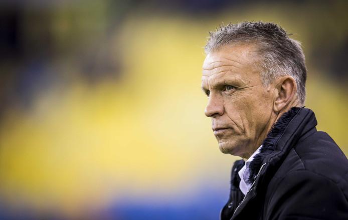 Edward Sturing, hoofdcoach bij Vitesse tot het einde van dit seizoen.