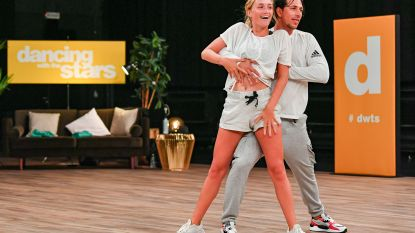 VIDEO. Julie Vermeire start met repetities voor 'Dancing With The Stars'