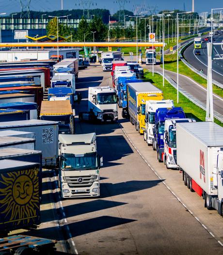 Overal in de regio zoeken bedrijven naar vrachtwagenchauffeurs
