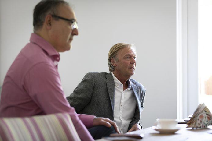 Jan Grandjean en Alaattin Ozdemir.