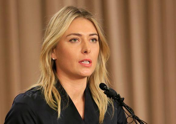 De vijfvoudig grandslamwinnares zei niet te weten dat meldonium verboden is, maar nam wel de volle verantwoordelijkheid voor haar overtreding van het dopingreglement.