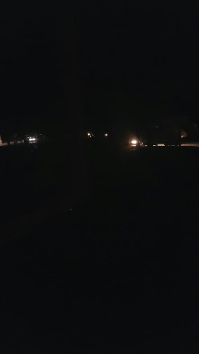 In delen van Tilburg was de straatverlichting uitgevallen.
