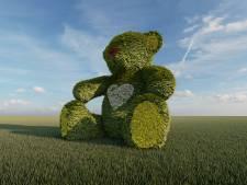 Gigantische bloemenbeer komt er dankzij crowdfunding eindelijk: 'Hartverwarmend'