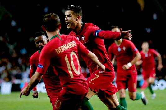Cristiano Ronaldo is de absolute uitblinker met een hattrick.