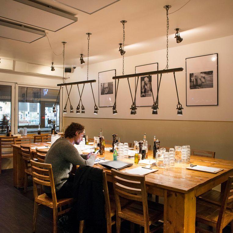 De Spaghetteria in de Van Woustraat Beeld Charlotte Odijk