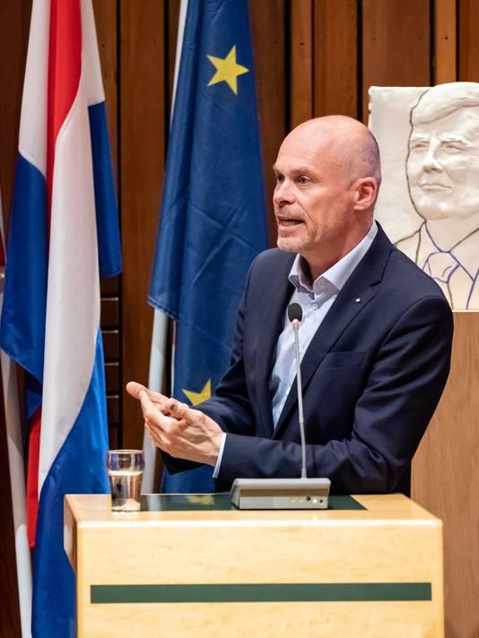Wethouder Cees van Eijk (GroenLinks, Jeugdzorg).