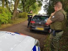 Vangkooi van mogelijke stroper aangetroffen bij controleactie in grensregio onder Tilburg