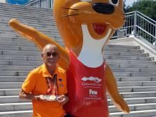 Arnhemmer Rob Hanou opnieuw wereldkampioen zwemmen bij de masters