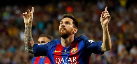 De mijlpalen van Messi