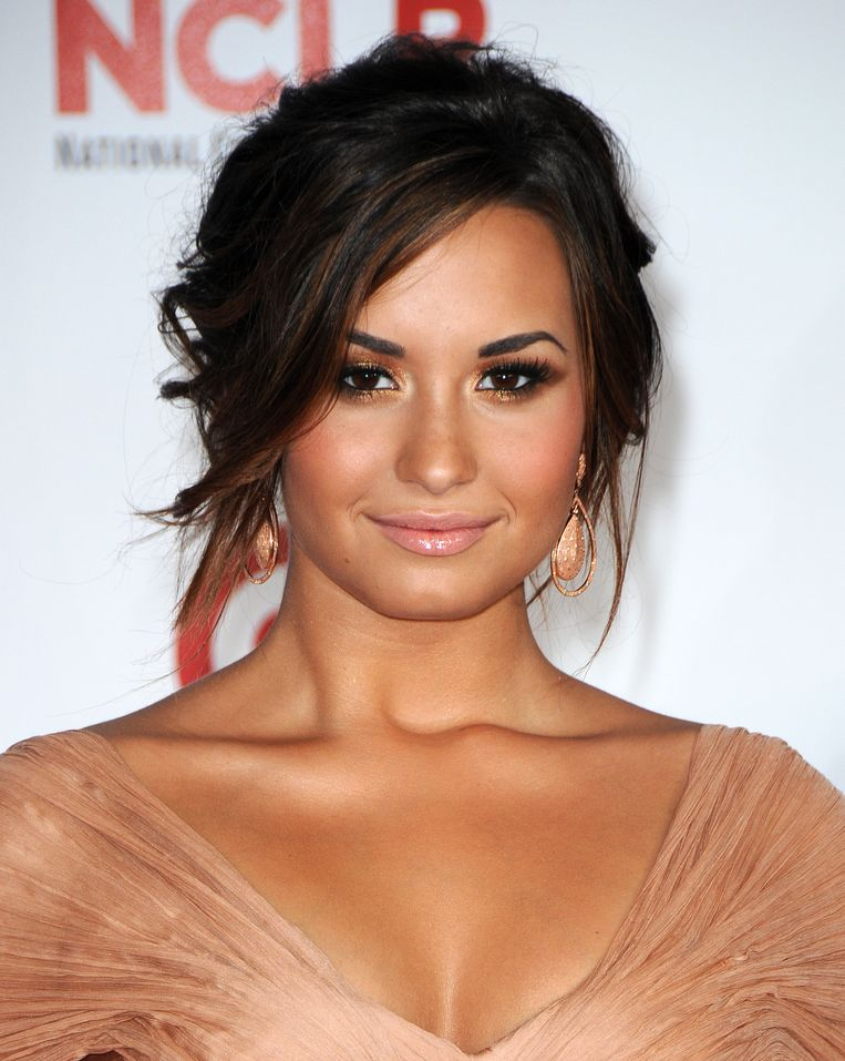 Demi Lovato tijdens de Billboard Music Awards op 20 mei 2018 in Las Vegas.