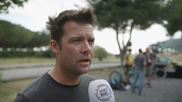 Een reactie van LottoNL-Jumbo-ploegleider Addy Engels na de zesde etappe van de Giro d'Italia.