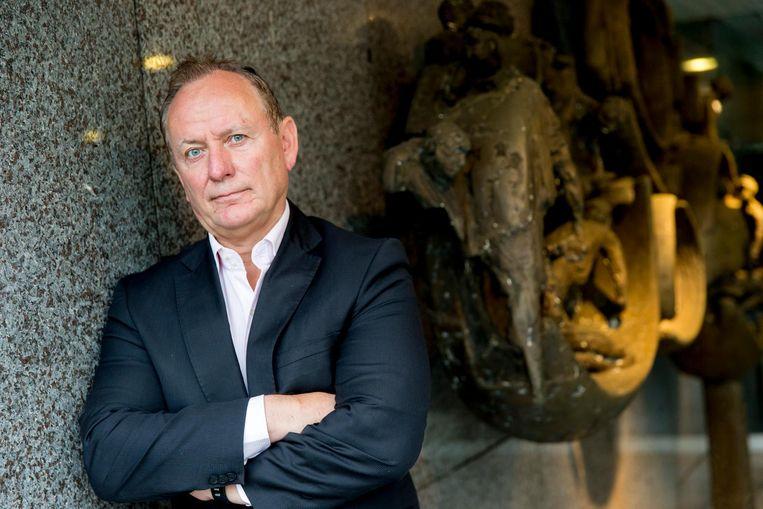 Jan Struijs van politiebond NPB. Beeld anp