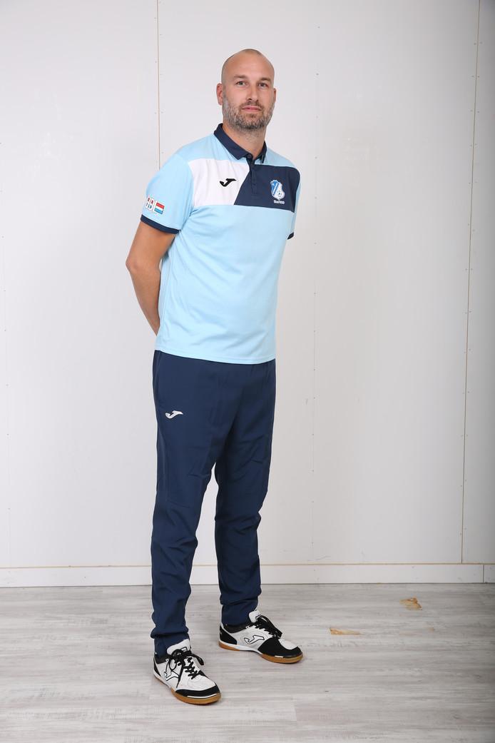 FC Eindhoven-coach Jan Vogels