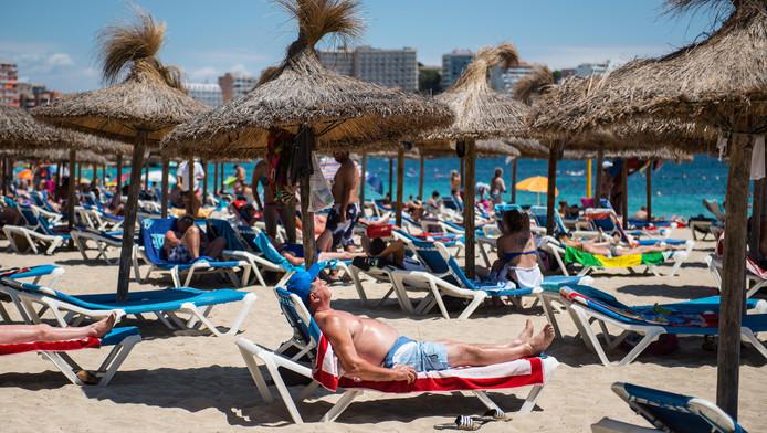 Het strand van Mallorca.