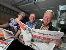 Broers Henry en John stoppen met 'de post': 'Ik bezorgde mijn eerste krant toen ik vijf was'