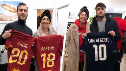 """Mevrouw Nainggolan veilt midden haar eigen strijd voetbalshirts voor jonge kankerpatiëntjes: """"Dit geeft me kracht"""""""