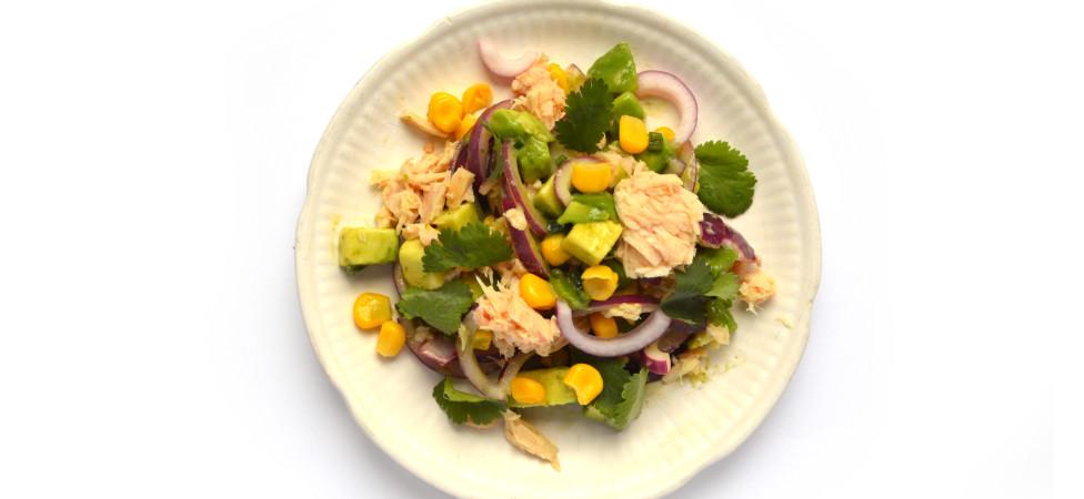 Ceviche (met tonijn uit blik)