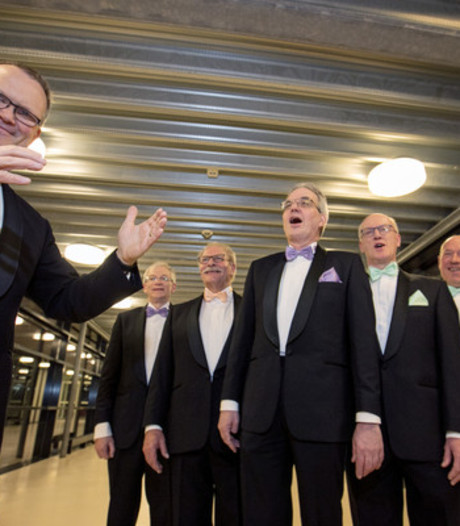 Vughts Mannenkoor viert 100-jarig jubileum met concert in Jheronimus Bosch Art Center