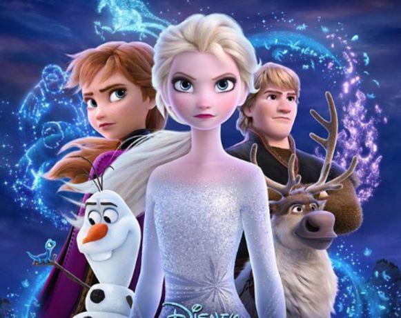 De eerste nieuwste poster van 'Frozen 2'.