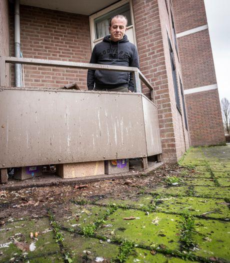 Duiventerreur op Eindhovens balkon, Samir is ten einde raad