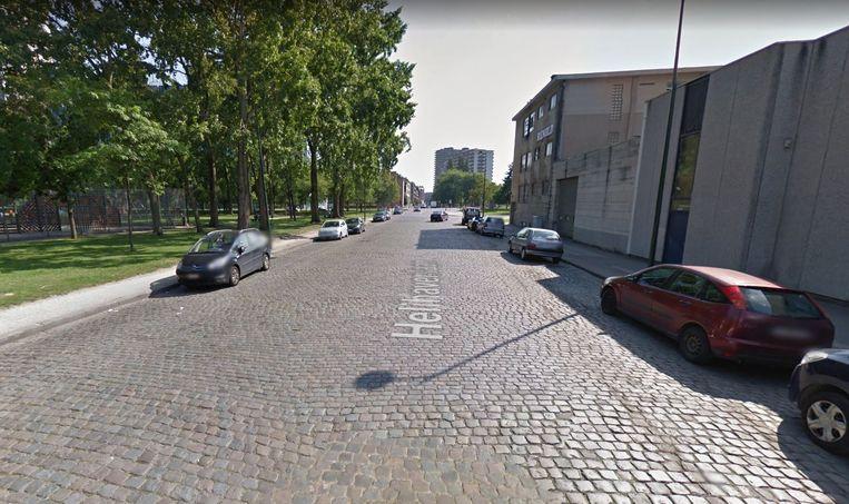 Het ongeval deed zich voor op de Helihavenlaan in Brussel.