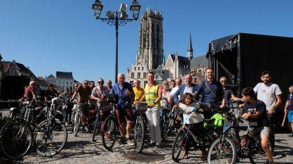 """Fietsersbond blaast 15 kaarsjes uit: """"Nog veel werk aan de winkel om van Mechelen een échte fietsstad te maken"""""""